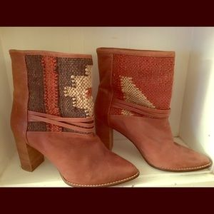 Anthropologie Howsty Boots